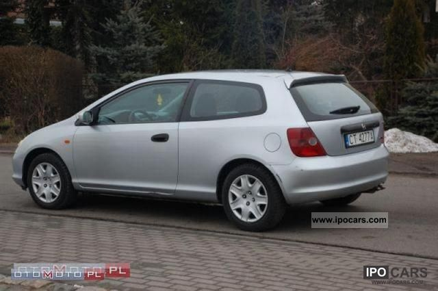 ... 2002 Honda Civic 1.7 CDTI AIR ZAREJESTROWANY Small Car Used Vehicle  Photo ...
