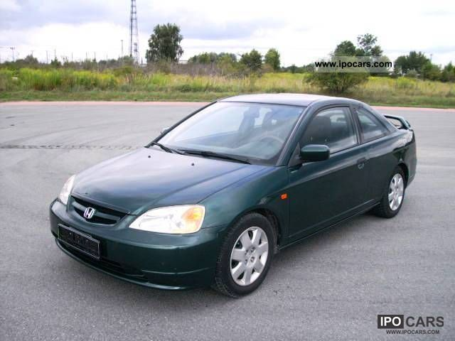 2002 Honda Civic Coupe 1 7 Ls Air Car Photo And Specs
