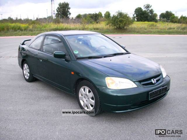 2002 Honda Civic Coupe 1.7 LS AIR Sports Car/Coupe Used Vehicle Photo ...