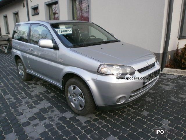 2002 Honda  HR-V 2002 1.6 ROK KLIMATYZACJA BENZYNA Estate Car Used vehicle photo