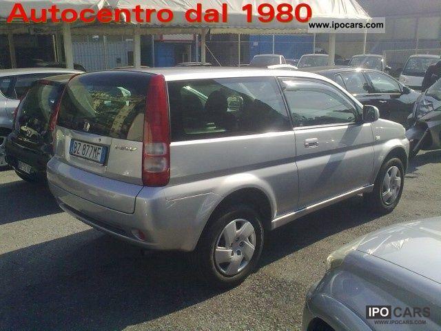 2002 Honda  HR-V 1.6i 16v cat 3 porte Estate Car Used vehicle photo