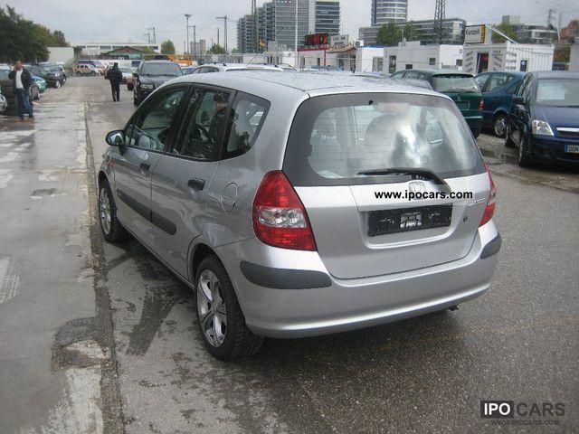 2003 Honda Jazz 13 S Euro 4 Air Aluminum Wheels 1hand Car