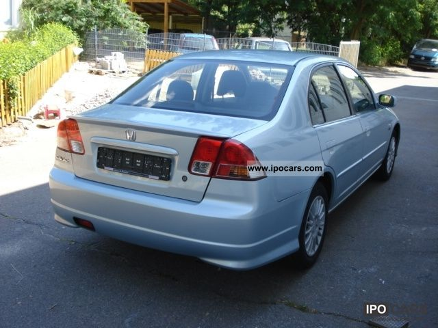 2004 honda civic 1 3 i dsi ima  hybrid  air sedan top  car photo and specs Toyota Camry Hybrid MPG 2013 Honda Civic Europe