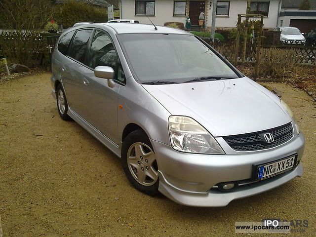 2001 Honda  Stream 2.0i ES Sports Vtec Van / Minibus Used vehicle photo