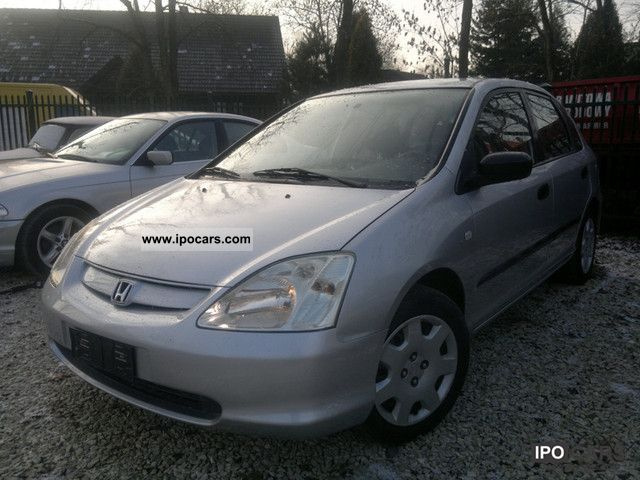 2003 Honda  1.7 CDTI 101km 5-DRZWI AIR KS.SERWISOWA Other Used vehicle photo