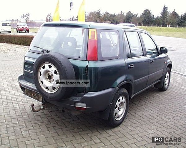 2001 Honda Cr V 2 0i 4x4 Air Towing Car Photo And Specs