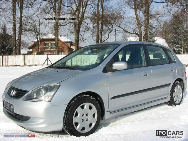 2005 Honda  Civic CDTI * 5drzwi Klimatyzacja * CD * Other Used vehicle photo