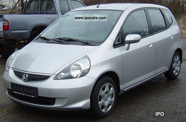 Honda  Jazz 1.4 LS petrol Euro 4 air-gas 2007 Liquefied Petroleum Gas Cars (LPG, GPL, propane) photo