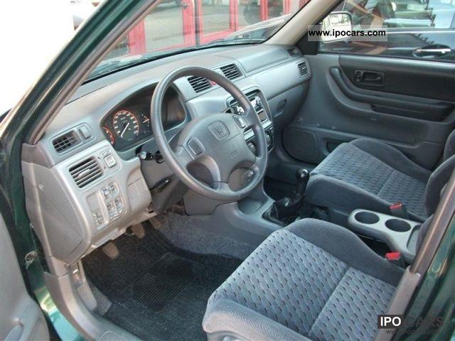 2001 Honda Cr V 2 0 16v 4x4 Car Photo And Specs