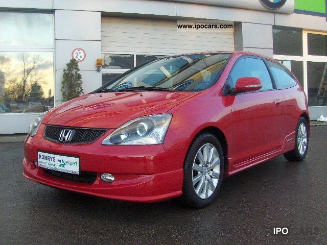 2005 honda civic 1 6 sport 110 km car photo and specs. Black Bedroom Furniture Sets. Home Design Ideas