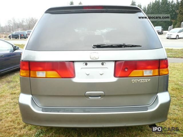 2001 Honda Odyssey 3 5 U S Model Car Photo And Specs