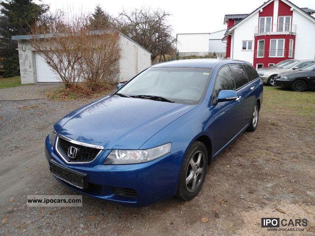 2005 Honda  Accord Tourer 2.0 i + ** PART LEATHER ALCANTARA ** Estate Car Used vehicle photo