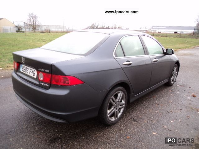 2007 Honda Accord 2 2i Ctdi Sport 140 Cv Car Photo And Specs