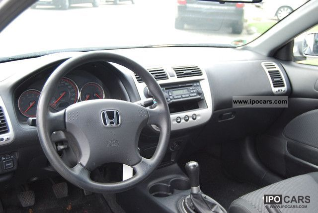 2005 Honda Civic Coupe 17 LS  Car Photo and Specs