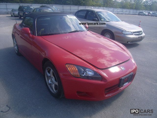 2002 Honda  S2000 Cabrio / roadster Used vehicle 			(business photo
