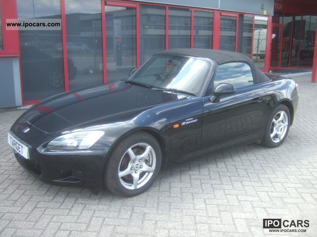 2001 Honda  S 2000 Climate / Leather Cabrio / roadster Used vehicle photo