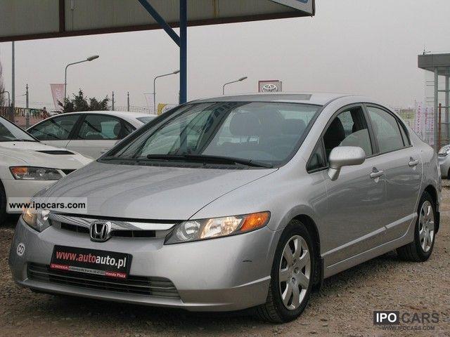2007 Honda  Civic BENZYNA / MACHINE / MAŁY PRZEBIEG / SERWIS Limousine Used vehicle photo