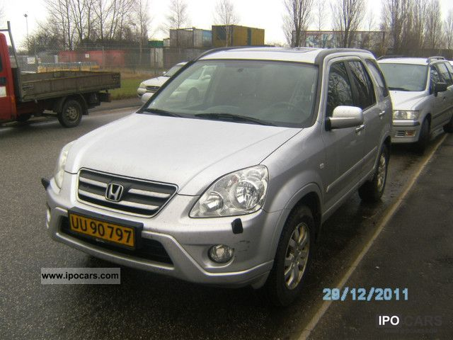 2006 Honda  2.2i CTDi CR-V Executive DPF Off-road Vehicle/Pickup Truck Used vehicle photo