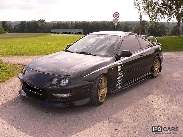 1998 Honda Integra Type R Car Photo And Specs