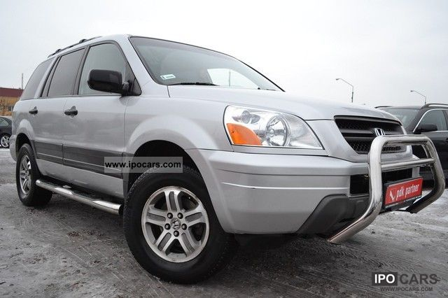 Honda  Pilot 4X4 / 8 WERSJA OSOOWA / LPG!! 2004 Liquefied Petroleum Gas Cars (LPG, GPL, propane) photo