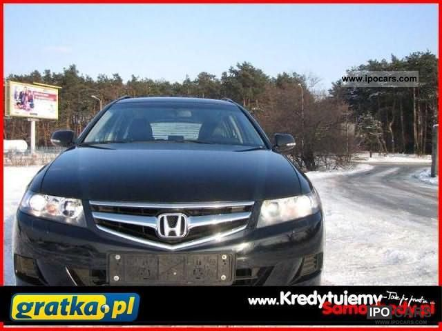 2008 Honda  Accord KredytujemySamochody.pl Estate Car Used vehicle photo