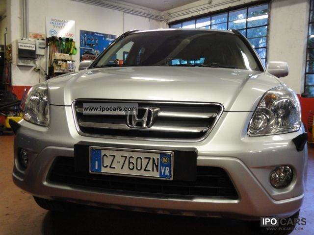 Honda  CR-V, 2.0 V-TEC EX BI-FUEL 2006 Liquefied Petroleum Gas Cars (LPG, GPL, propane) photo