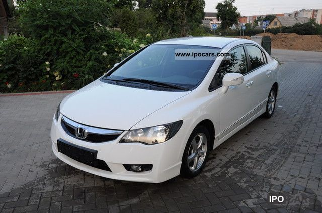 Honda  Civic Hybrid CVT 1.3i-DSI IMA Comfort VTEC 2009 Hybrid Cars photo