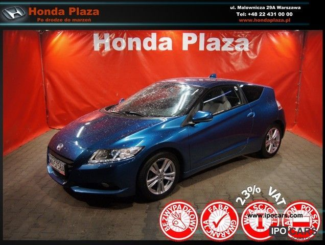 Honda  CR-Z GT, 23% VAT, room PL, bezwypadk. 2010 Hybrid Cars photo