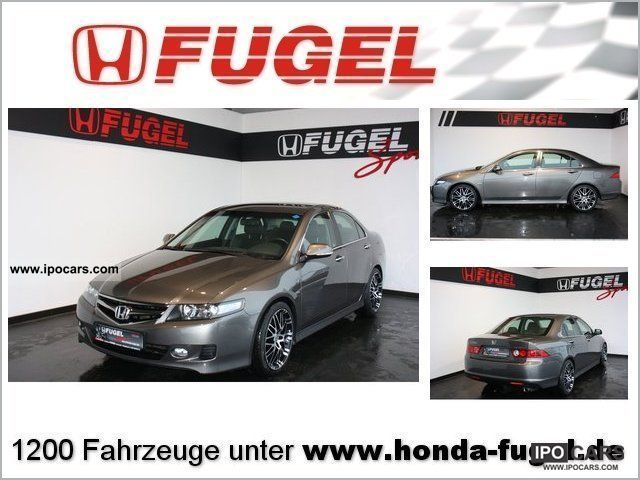 2008 Honda  Accord 2.0 30 Years Edition Fugel Sports Limousine Used vehicle photo