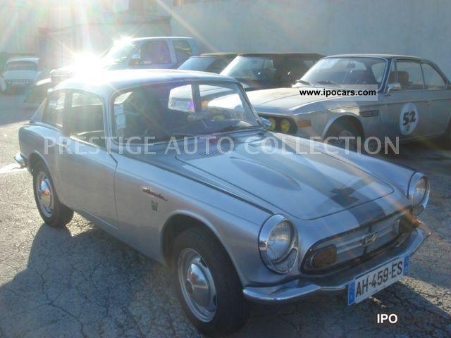 1967 Honda  S 800 COUPE Sports car/Coupe Used vehicle photo