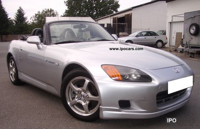 2003 Honda  S 2000, e.Verdeck, air conditioning, leather Cabrio / roadster Used vehicle photo