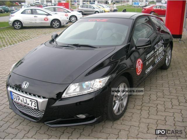 2010 Honda Cr Z Sports Car Design In Black Inc Winterrä Coupe