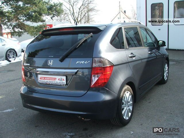 2007 honda fr v 2 2 ctdi car photo and specs. Black Bedroom Furniture Sets. Home Design Ideas