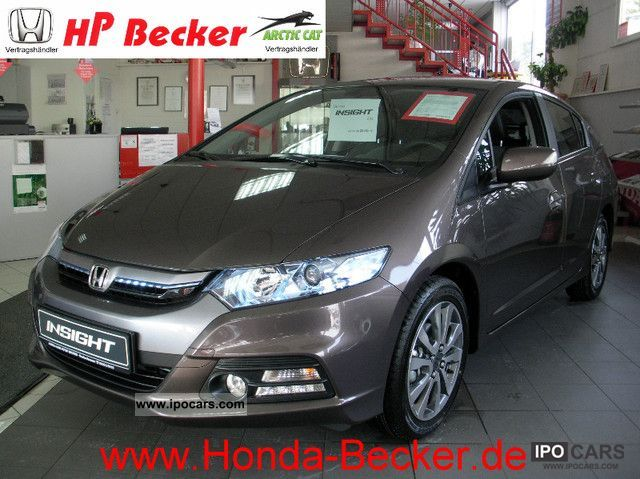 Honda  Insight 1.3 i-DSI Hybrid i-VTEC Elegance 2011 Hybrid Cars photo