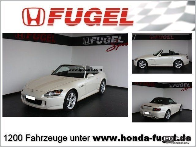 2008 Honda  S2000 Cabrio / roadster Used vehicle photo