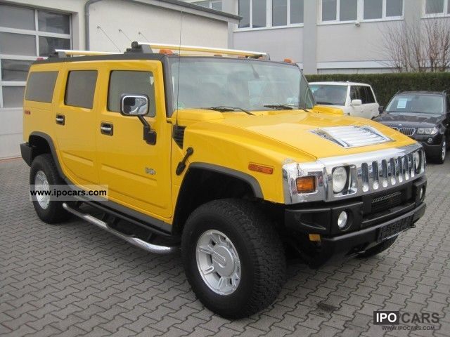 2004 Hummer  H2 Chrome package APC Leather heater PDC Off-road Vehicle/Pickup Truck Used vehicle photo