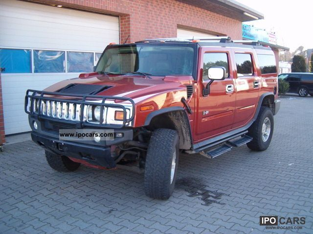 2003 Hummer  H2 - German approval Off-road Vehicle/Pickup Truck Used vehicle photo