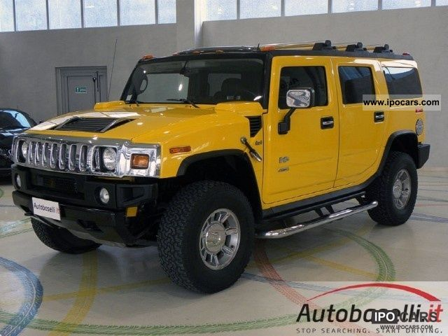 2005 hummer h2 6 0 v8 4x4 platinum 321 cv cambio automatico car photo and specs. Black Bedroom Furniture Sets. Home Design Ideas