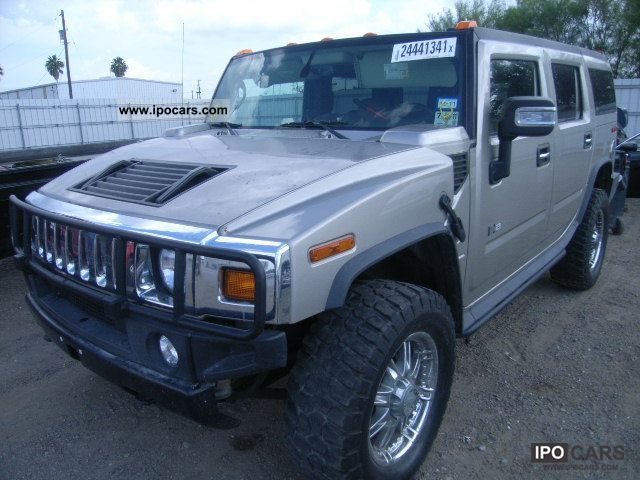 2007 hummer h2 car photo and specs. Black Bedroom Furniture Sets. Home Design Ideas