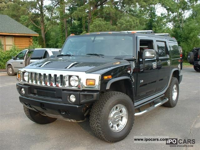 2005 Hummer  H 2 = 2005 = Off-road Vehicle/Pickup Truck Used vehicle 			(business photo