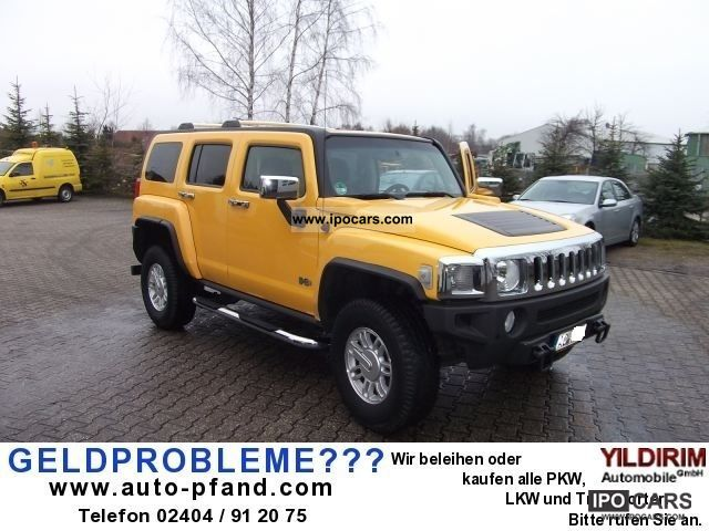 2008 Hummer  H3, LEATHER, CLIMATE, NAVI, DVD, Automatic, EURO4 Off-road Vehicle/Pickup Truck Used vehicle photo