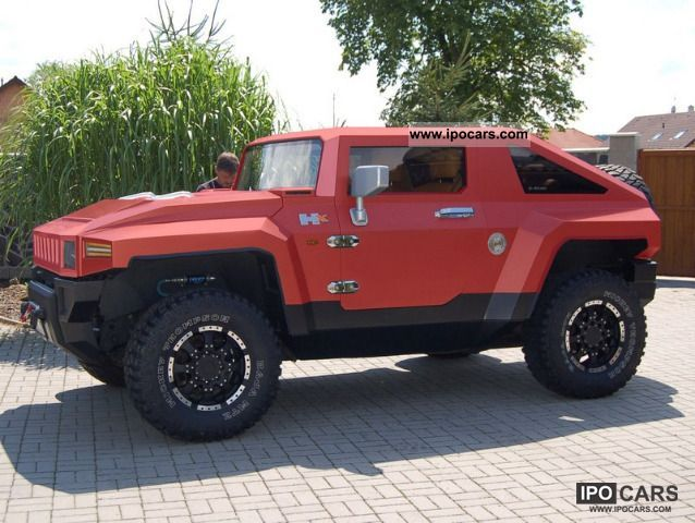 2007 Hummer  H2X H2X kit for conversion to BUREKO Other New vehicle photo