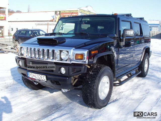 Hummer  H2 LPG, DVD, 3xLCD top condition 2003 Liquefied Petroleum Gas Cars (LPG, GPL, propane) photo