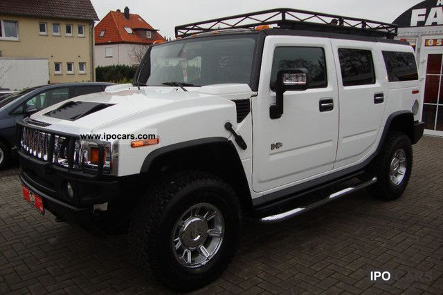 2005 Hummer  H2 Sewell Prins LPG gas system incl Off-road Vehicle/Pickup Truck Used vehicle photo