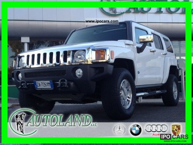 2007 Hummer  H3 Luxury * Automatica * Tetto * and Guaranteed * Finanziabil Off-road Vehicle/Pickup Truck Used vehicle photo