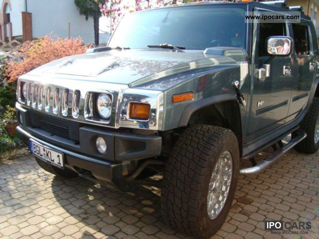 Hummer  H2 SUT LUXURY GAS CONDITIONING truck registration 2007 Liquefied Petroleum Gas Cars (LPG, GPL, propane) photo