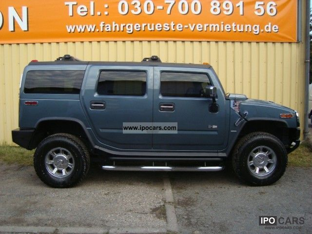 2005 Hummer  4xH2 Luxury chrome black leather sunroof 2xTFT DVD Off-road Vehicle/Pickup Truck Used vehicle photo