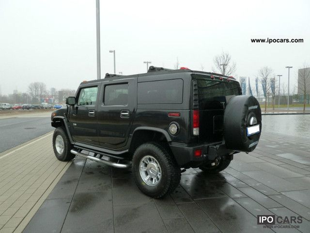 2007 hummer h2 2007 black leather delivery navi eu. Black Bedroom Furniture Sets. Home Design Ideas