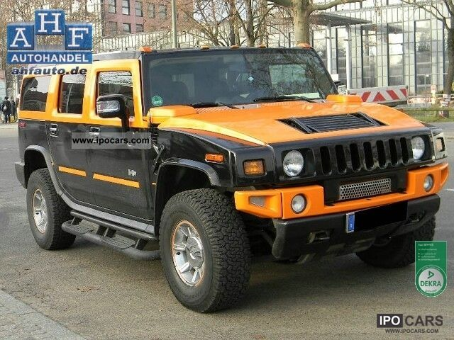 2005 Hummer  6.0 Liquefied H2 Off-road Vehicle/Pickup Truck Used vehicle photo