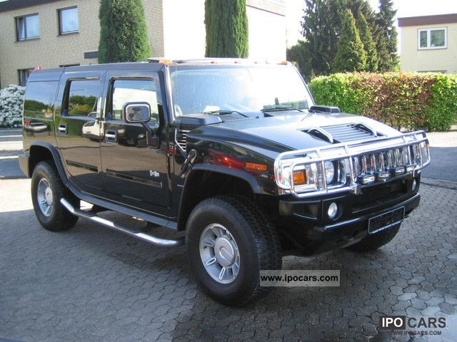 2004 Hummer  H2-leather features full LPG gas system Off-road Vehicle/Pickup Truck Used vehicle photo